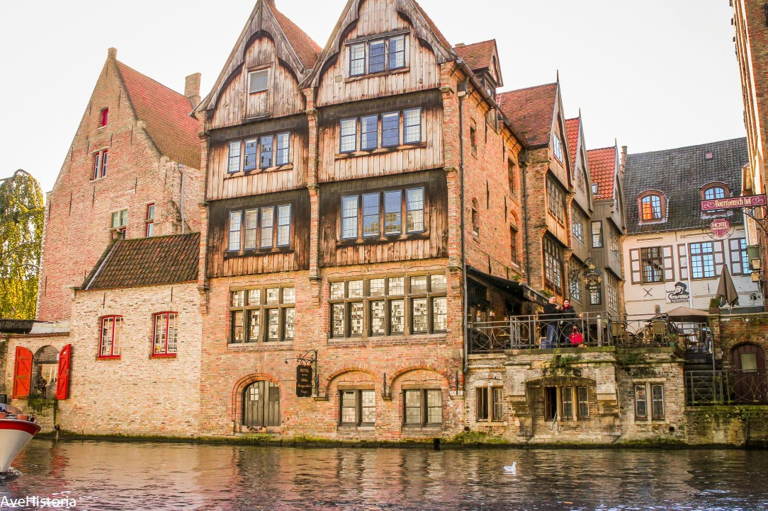"Bruges, house on the chanel, ""In Bruges""-movie"