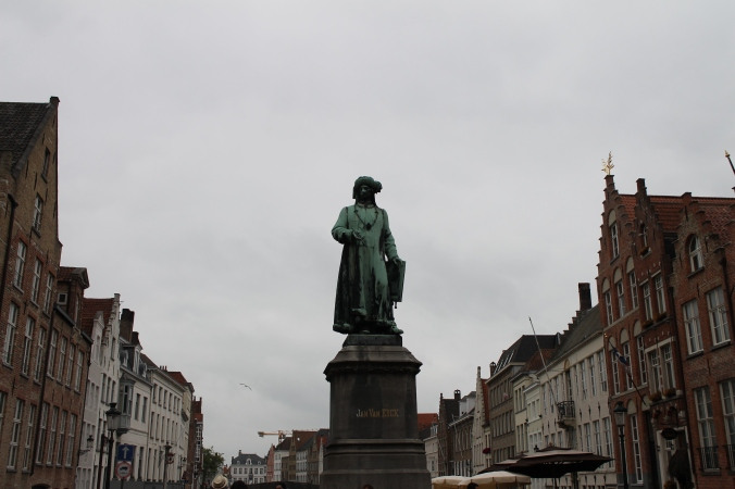 Statuia lui Jan Van Eyck
