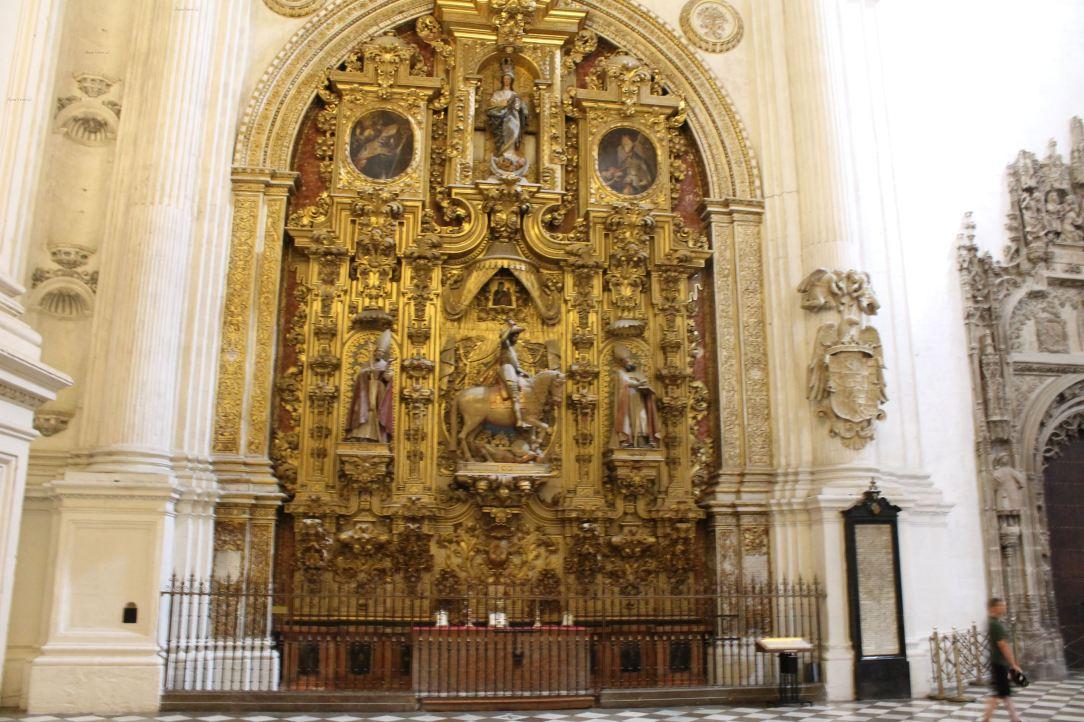 Altar din Capela Regala, Granada, Spania