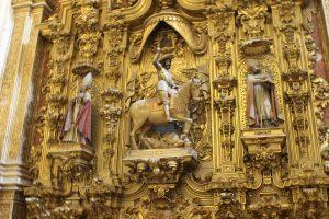 Altar in Cathedrala din Granada, Spania