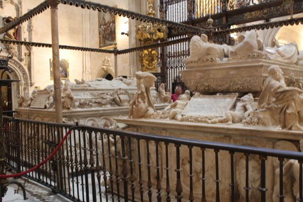 Mormintele Isabelei de Castilia & Ferdinand de Aragon, Capela Regala, Granada, Spania