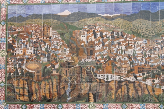 Ronda-mozaic, Spania