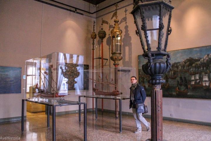 Felinarele corabiilor, Museo Correr, Venetia