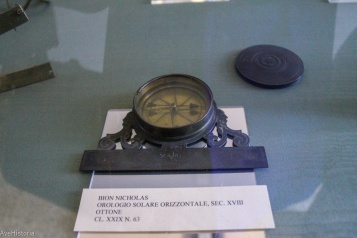 Instrumente de navigat, Museo Correr