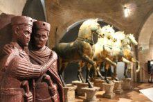 Statuia din porfir a tetrarhilor si cei 4 cai de bronz -originalele, Venetia