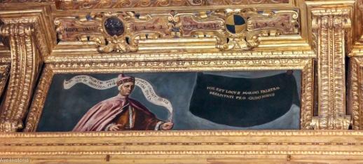 Damnatio memorie pentru dogele Marin Faliero, Palatul Dogelui