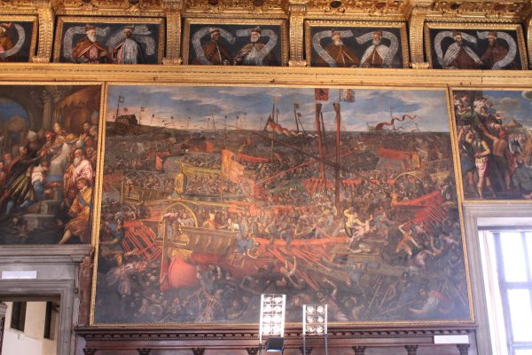 Batalia de la Salvore, Palazzo Ducale, Venetia
