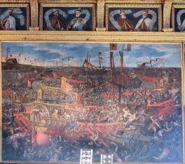 Batalia de la Lepanto, Palatul Dogelui