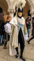 Carnavalul din Venetia, masca bauta
