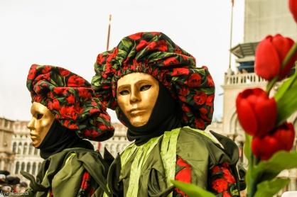 Carnavalul din Venetia, bauta masca