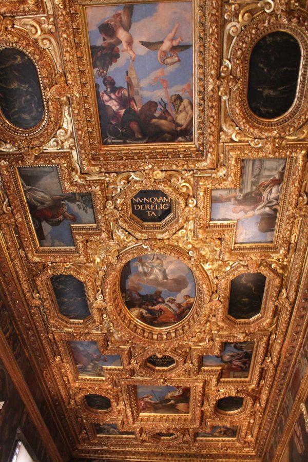 Marte si Neptun, Palazzo Ducale, Venetia