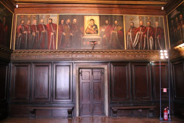Portretele celor 5 cenzori, Palazzo Ducale, Venetia
