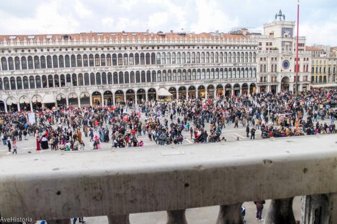 Piata San Marco, Procuratie Vecchie, Venetia