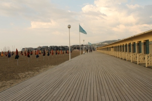 Promenades des Planches, Deauville, Franta
