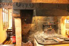 Café Forges, Beuvron-en Auge, Franta