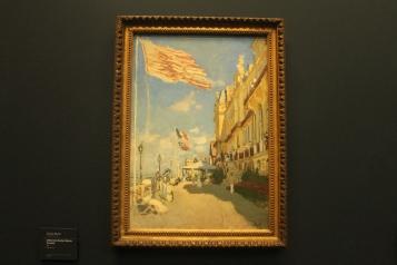 """Claude Monet, """"L' Hôtel des Roches Noires à Trouville"""""""