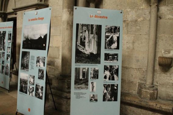 Expozitie cu dezastrul bombardamentului aliat din 1944