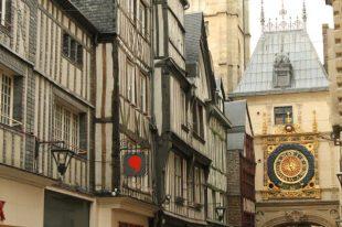 Rue du Gros Horloge, Rouen