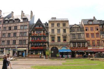 la place du Vieux-Marché, Rouen