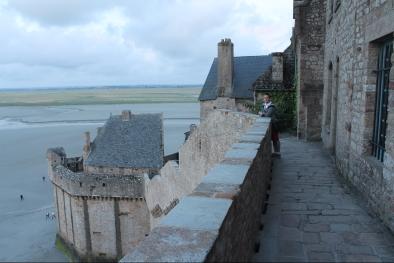 Muntele Saint Michel-fortareata