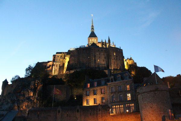 Le Mont Saint Michel, Franta