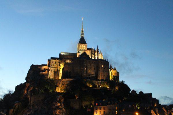 Apus la Muntele Saint Michel, Franta