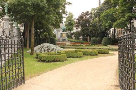 Gradina din Petit Sablon, Bruxelles
