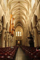 Catedrala Saint Michel et Gudule, Bruxelles, interior