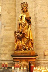 Catedrala Saint Michel et Gudule, Bruxelles, Sainte Gudule