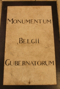 Piatra de mormant a Isabelei si Arh Albert