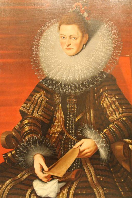 Isabella-guvernatoarea Tarilor de Jos spaniole. Pieter Paul Rubens, reproducere