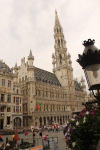 Hotel de Ville din Grand Place, Bruxelles