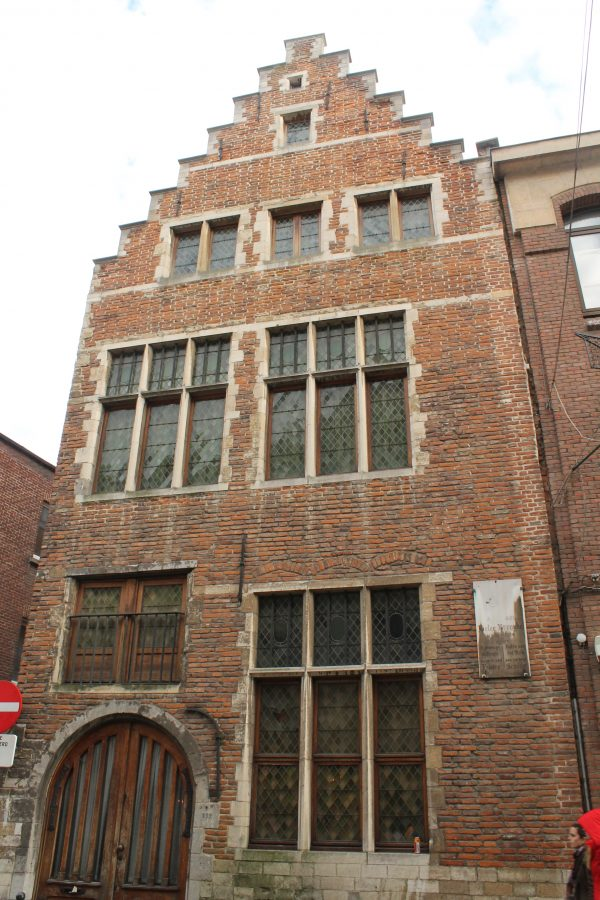Casa in care a trait Pieter Bruegel, Bruxelles