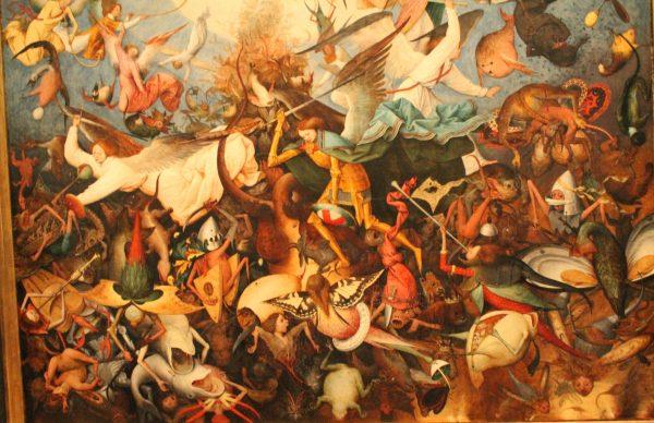 """""""Caderea ingerilor rebeli"""", Pieter Bruegel"""