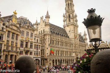 Grand Place, Hotel de Ville, Bruxelles