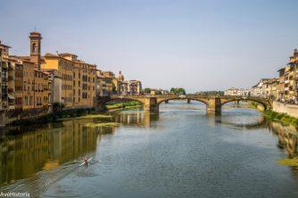 Raul Arno si Ponte Santa Trinita