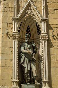 Statuia Sfantului Apostol Luca, Orsanmichele, FLorenta