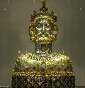 Bustul lui Charlemagne