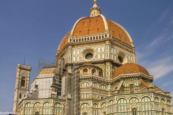 Cupola Domului Santa Maria dei Fiore din Florenta