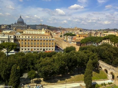 Basilica di San Pietro, Vatican si Passetto di Borgo