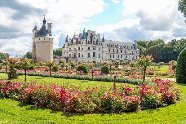 Château de Chenonceau, Valea Loarei, Franta