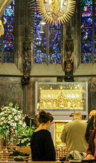 Chivotul Charlemagne, Aachen
