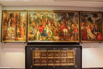 Altar medieval, tezaurul din Aachen