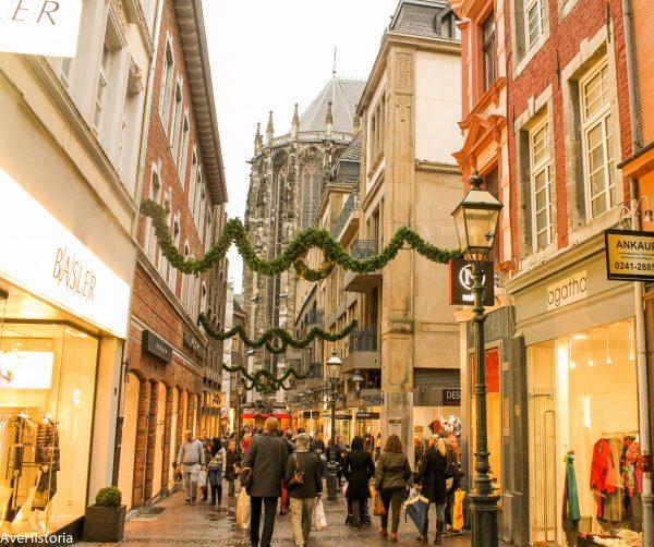 Aachen, street
