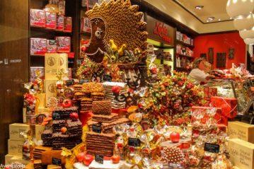 vitrina cu ciocolata, Aachen