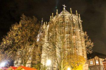 Aachen dom, noaptea