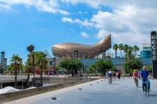 Port Olimpic, The Fish, Barcelona
