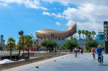 Port Olimpic, The Fish, Barcelona