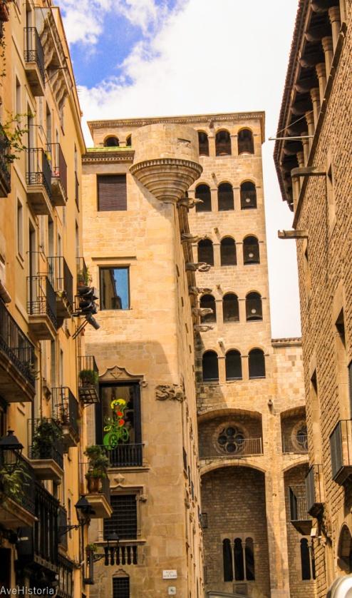Turnul Mirador del Rei Martí (secolul XV), Barcelona