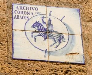 archivo corona de aragon, barcelona